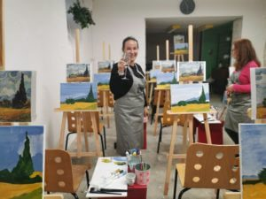 PIE pass can be used for events and not for the painting workshops