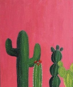 painting cacti in basel