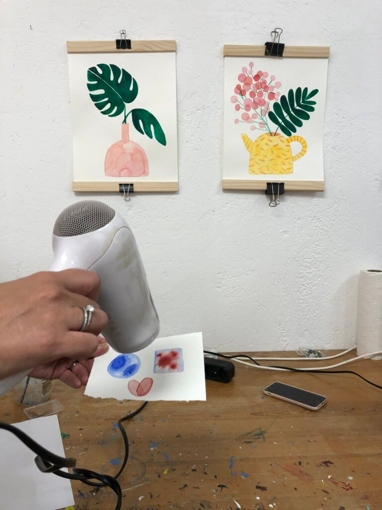 painting workshop in basel