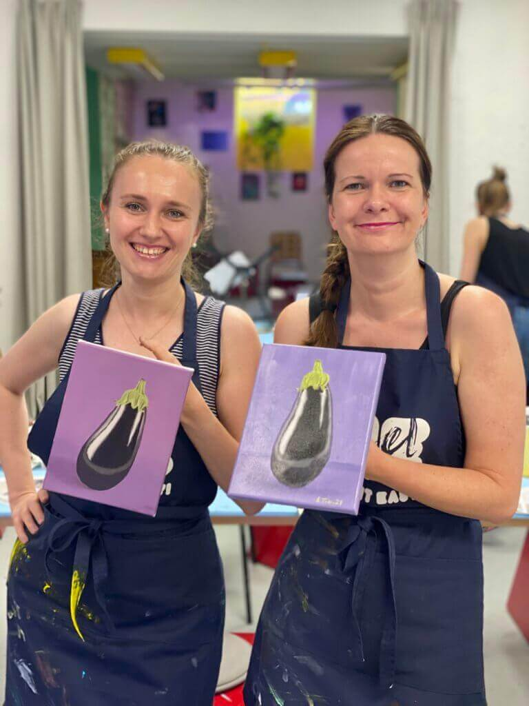 Painting workshop with oil in Basel