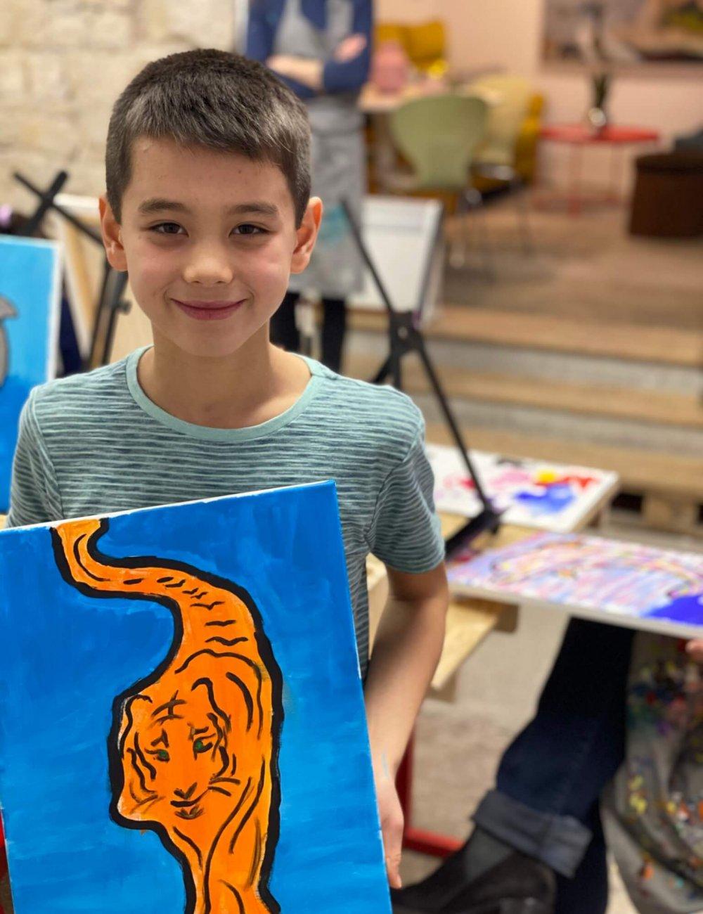 kids painting classes