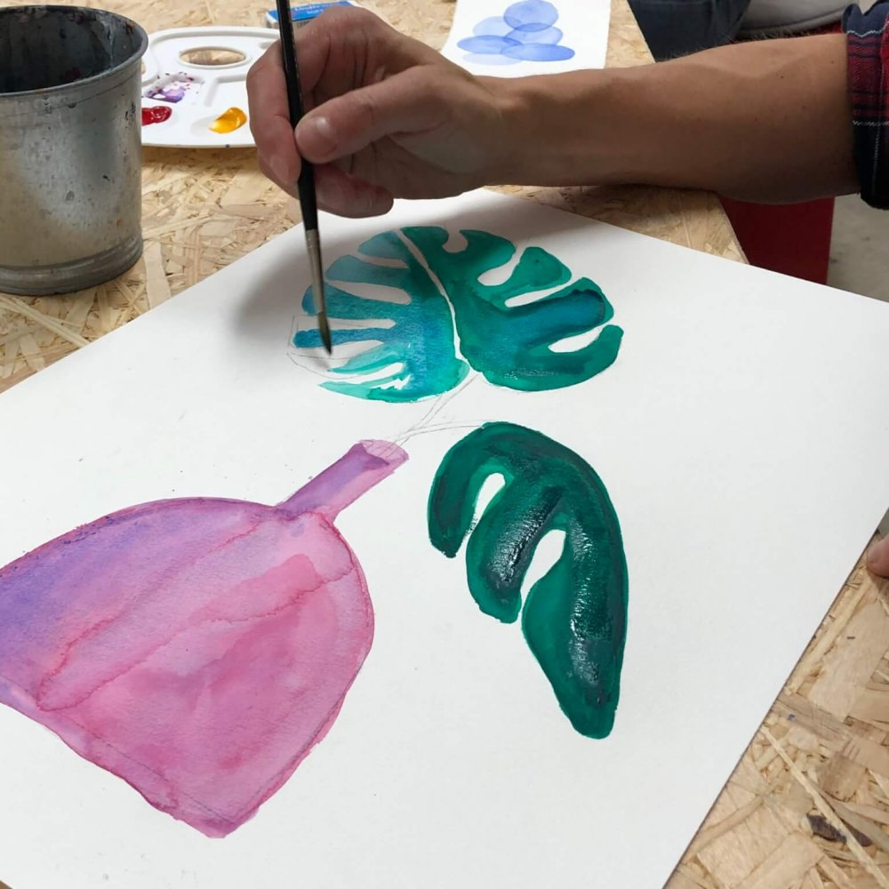 painting course in basel