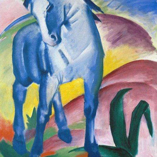 'Franz Marc: Blue Horse'