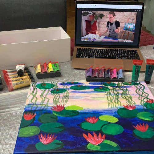 online painting tutorials from Basel