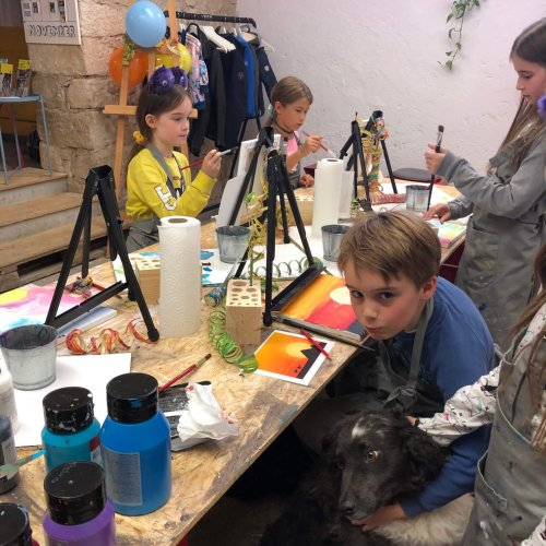 kids art course