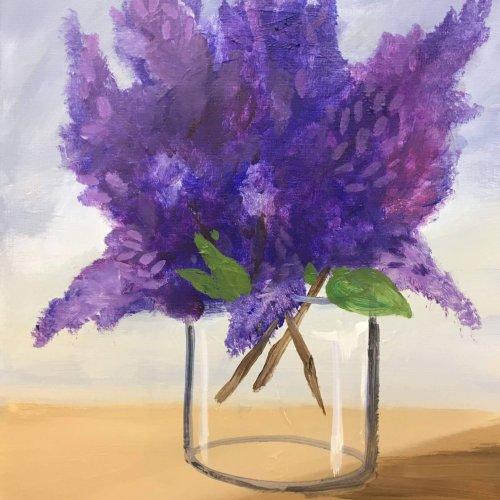 'Lilacs in a jar'