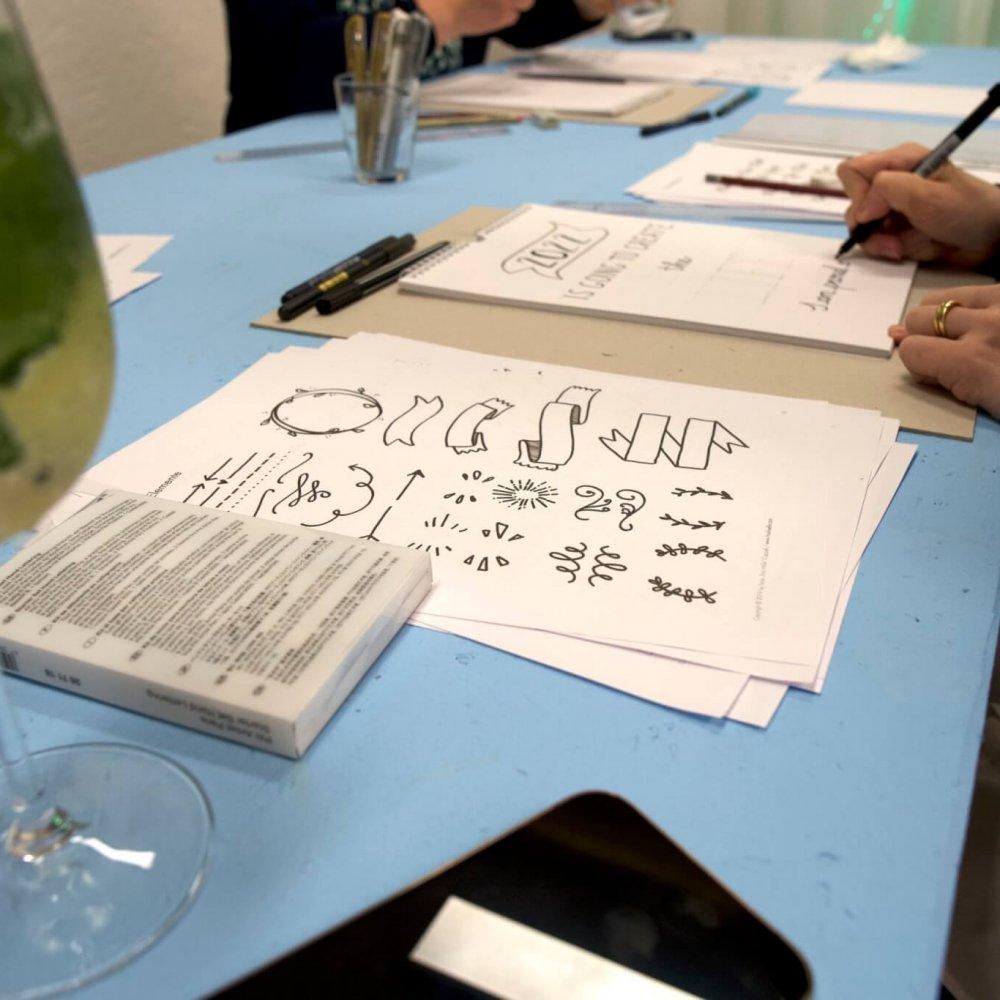 Handlettering workshop basel