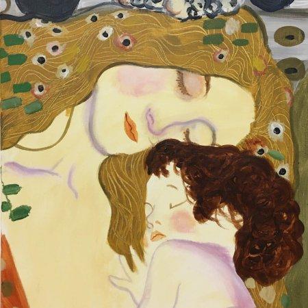 'Klimt: Mother and child'