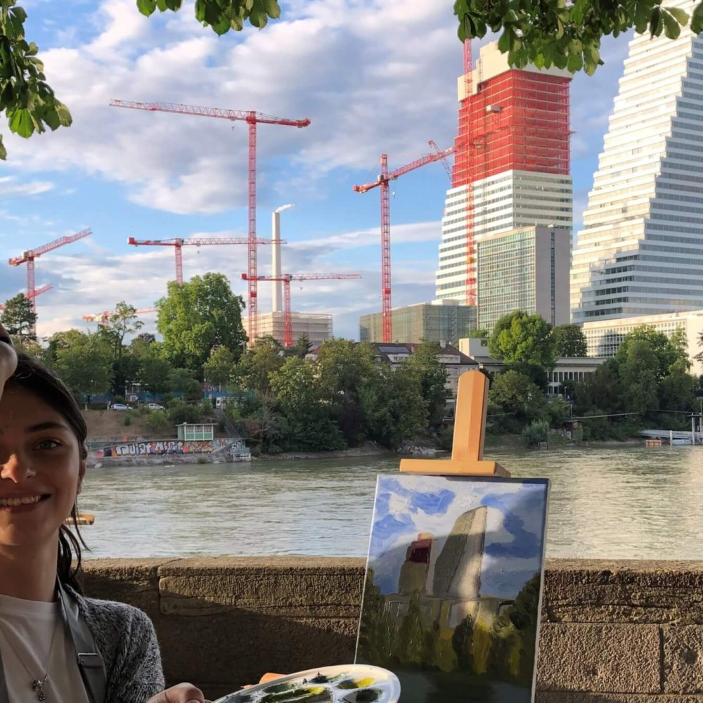 Painting the Roche Tower